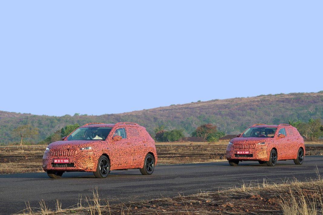 Skoda avanza las líneas del Kushaq, un SUV para el mercado indio