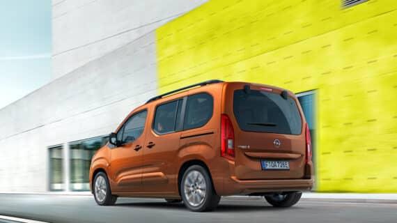 Opel abre los pedidos de la versión eléctrica del furgón Combo