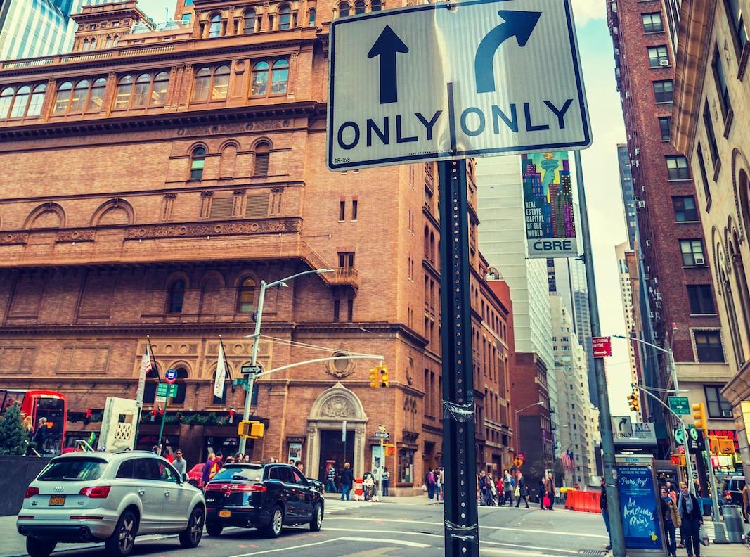 La entrada del Carnegie Hall, en Nueva York. FOTOGRAFÍA: ALEKSANDER