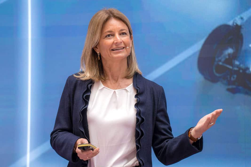 Laura Ros es la primera ejecutiva de Volkswagen España. FOTOGRAFÍA: VOLKSWAGEN