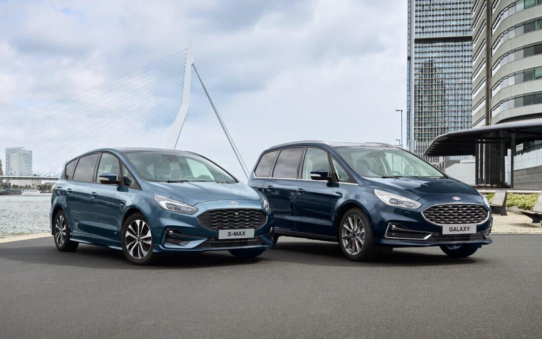 Ford lanza al mercado de empresas la versión híbrida de S-MAX y Galaxy