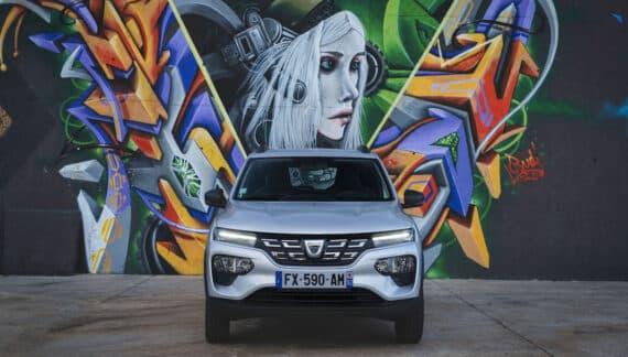 Zity introducirá el Dacia Spring en su flota de Madrid