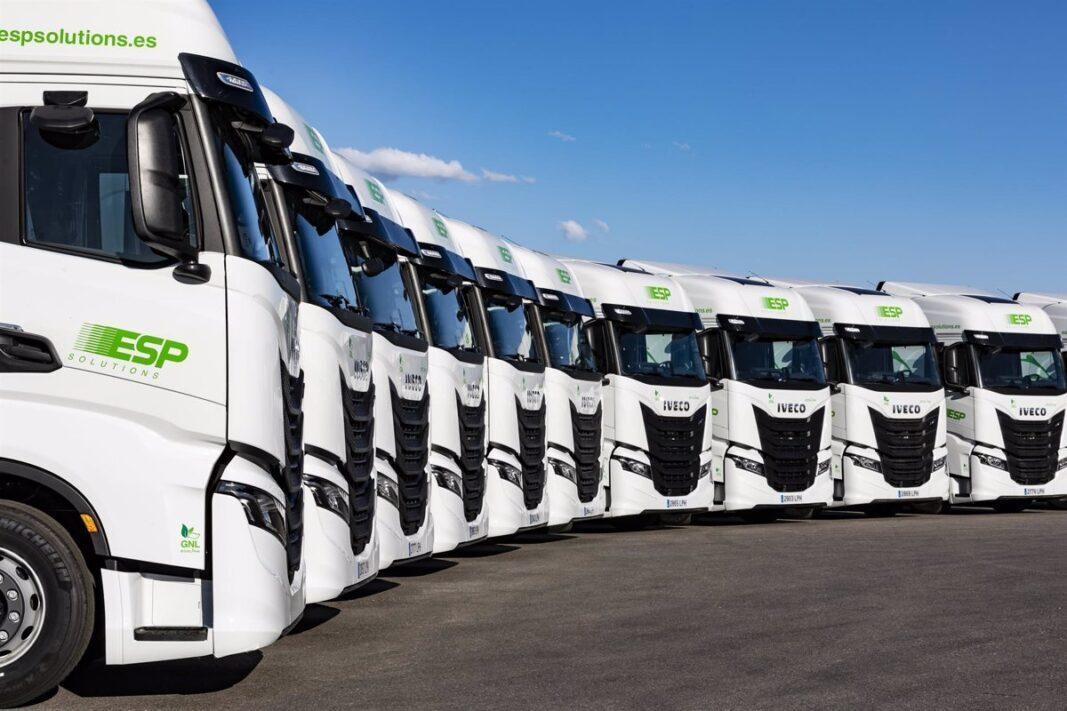 Iveco entrega una flota de 300 S-Way de gas a ESP Solutions