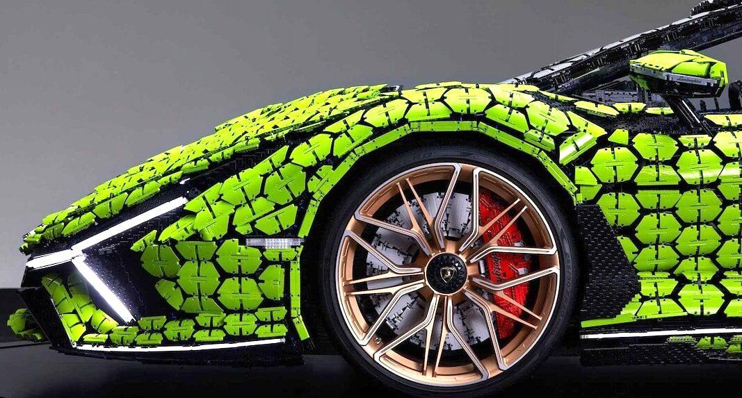 Lego: 400.000 'bricks' para un Lamborghini a tamaño real