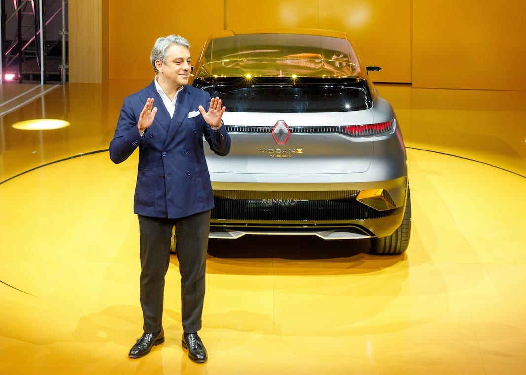 Renault Mégane E Vision Concept. FOTOGRAFÍA: © MARTIN GALIBIER