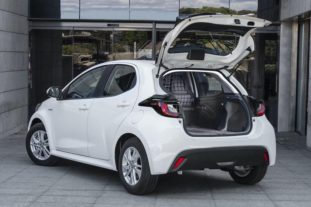 Toyota lanza la versión comercial del nuevo Yaris, con 720 litros de carga