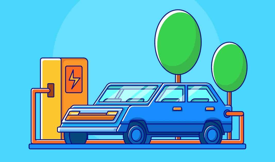 La cuota de mercado de coches eléctricos de la UE depende su PIB