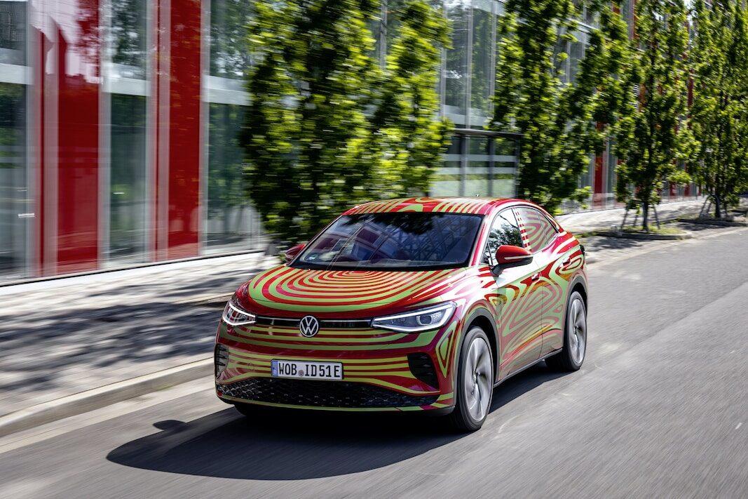 ID.5 GTX: Altura de miras profesional y verde de Volkswagen para Múnich