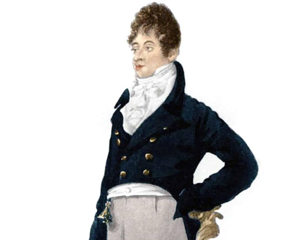'Beau' Brummell, un gran impulsor y defensor de la moda masculina, como posteriormente lo serían Carlos de Inglaterra o Giovanni Agnelli, por ejemplo. Su vida, y sus últimos años en concreto, no fueron precisamente felices. Acorde con la intrínseca indivdiualidad del dandi.