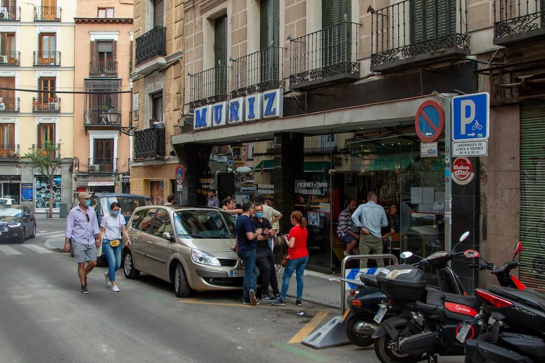 Barrio de La Latina, en Madrid. FOTOGRAFÍA: JUAN GARCÍA HINOJOSA