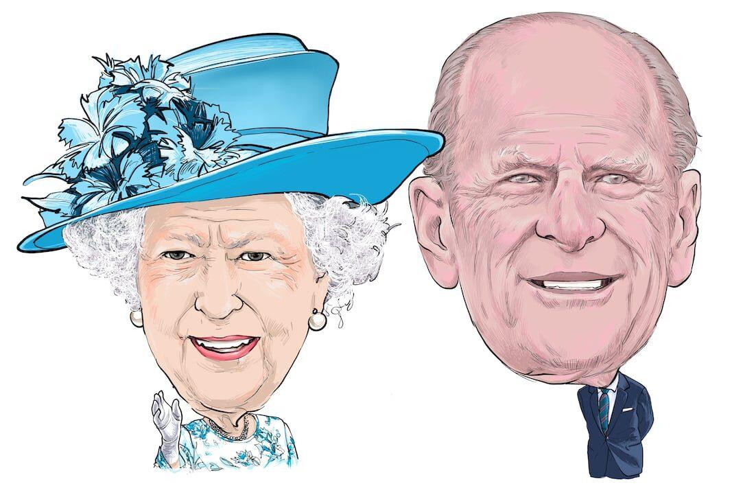 Dos pasos detrás de la Reina