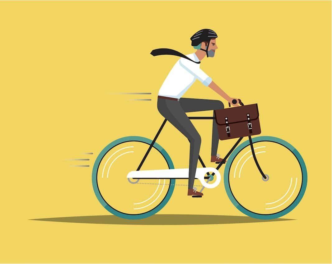 La bicicleta dispara su utilización en los entornos profesionales