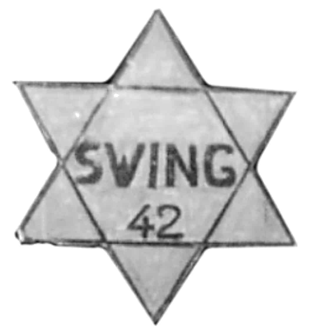 Una estrella nazi, también customizada por los 'swingers'