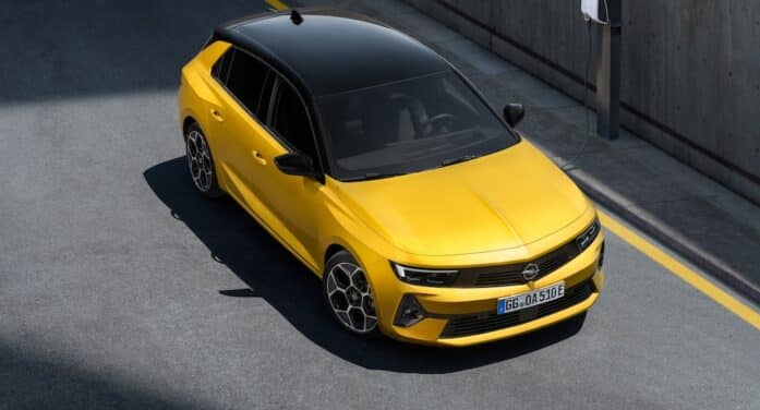 Opel abre pedidos para la sexta generación del compacto Astra