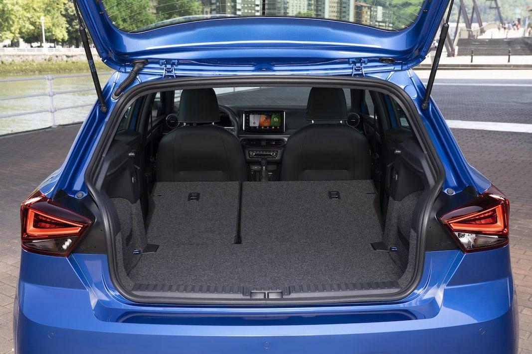El maletero del Ibiza ofrece 355 litros (sin bajar los asientos).