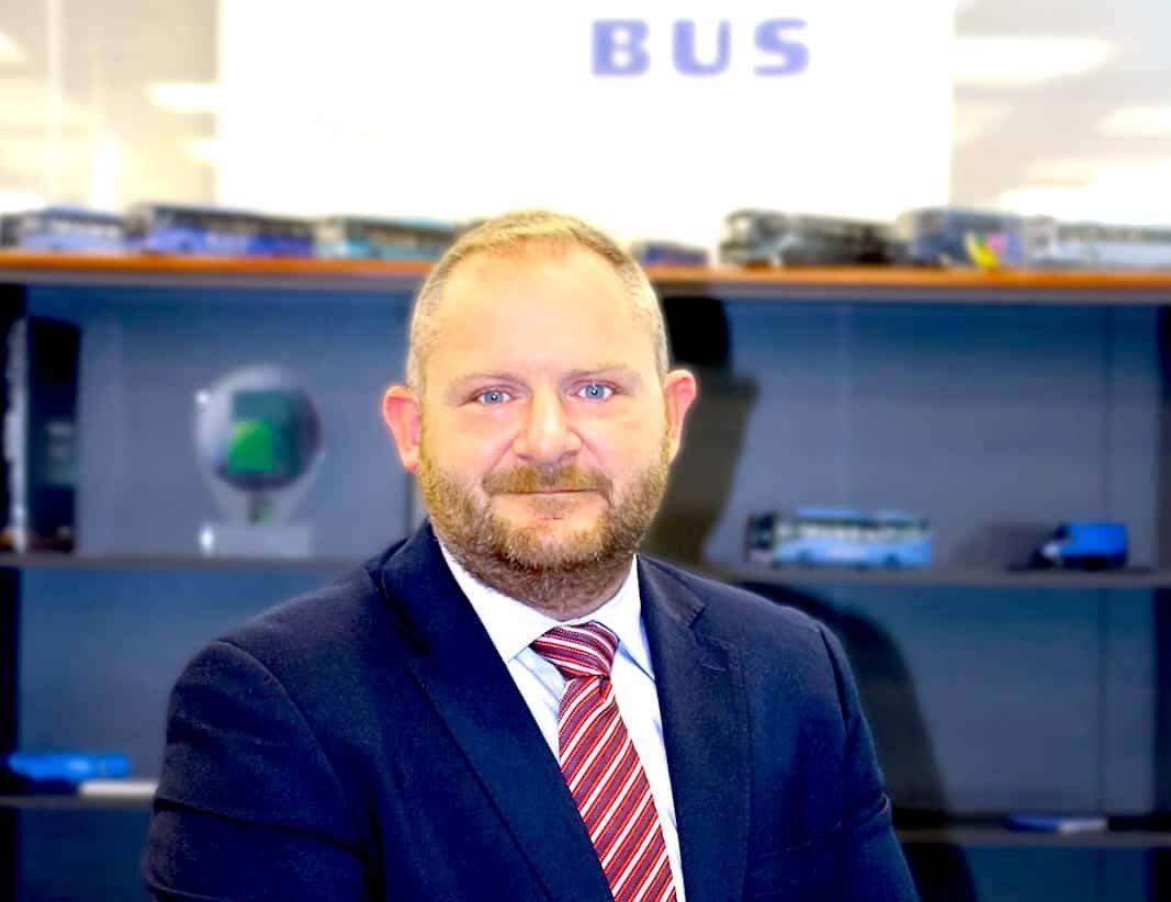 Fabrizio Toscano, nuevo director comercial de Iveco Bus Iberia