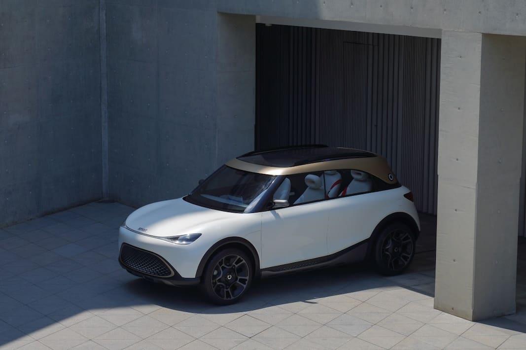 Imagen del SUV compacto que lanzará Smart al mercado en 2023.