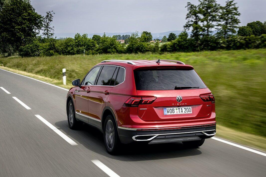 Volkswagen renueva el Tiguan Allspace: 1.800 litros de maletero