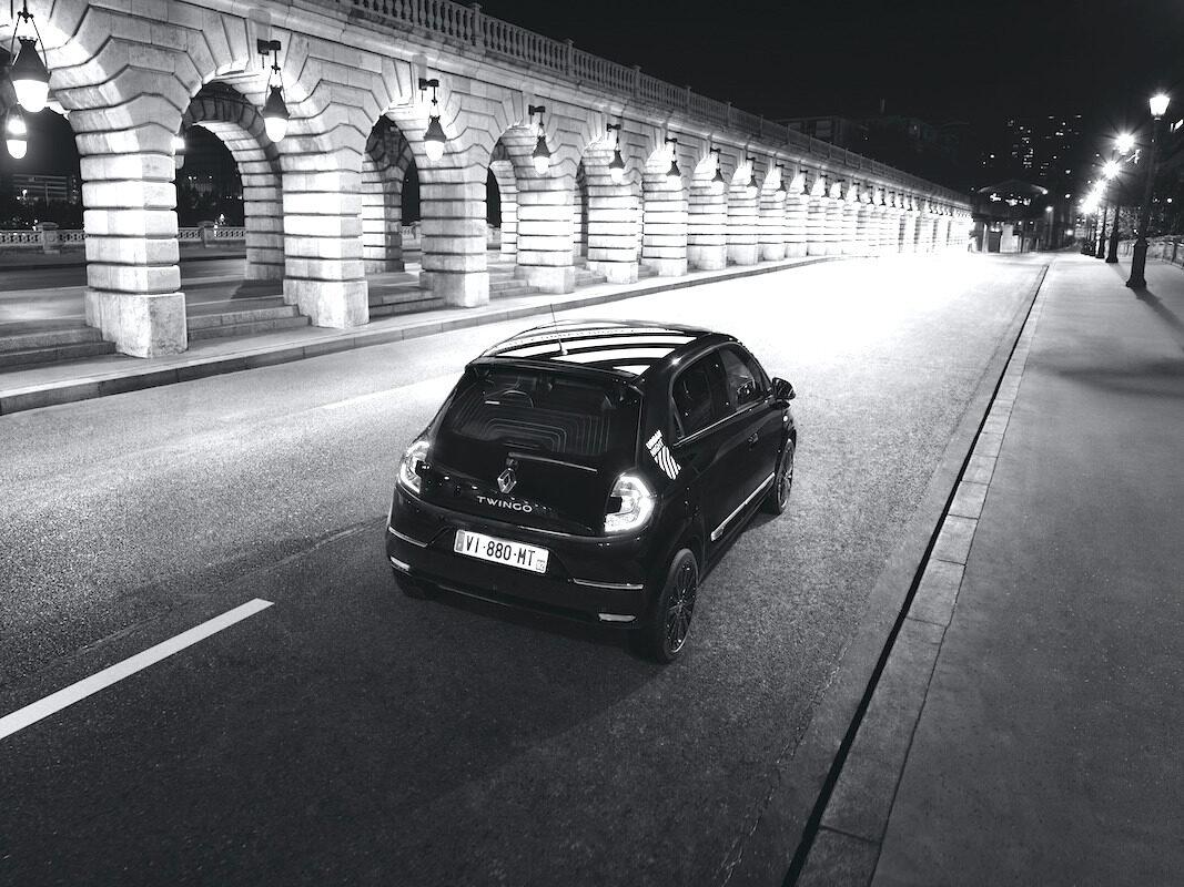 Twingo Urban Night: una serie especial eléctrica de Renault