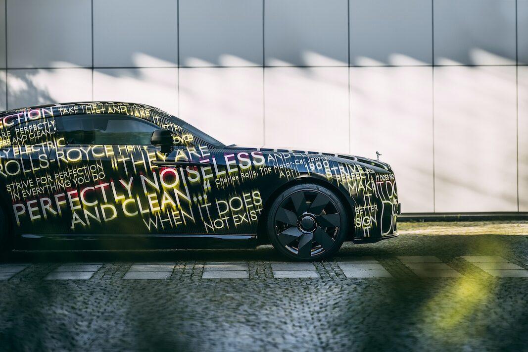 Spectre: Rolls lanzará en 2023 su primera berlina eléctrica